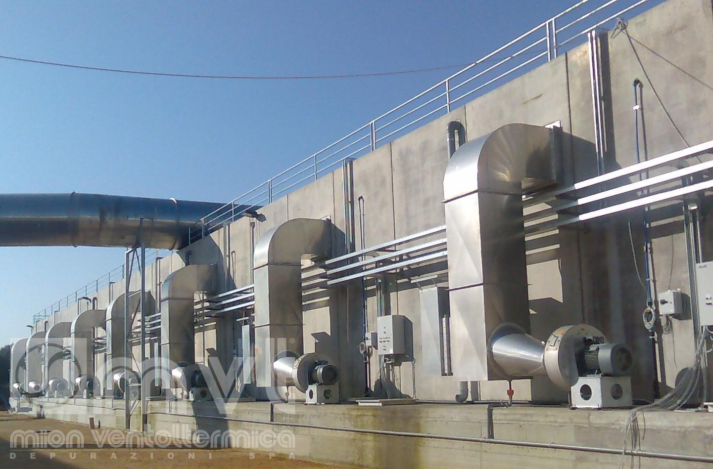 impianti di compostaggio   Mion Ventoltermica