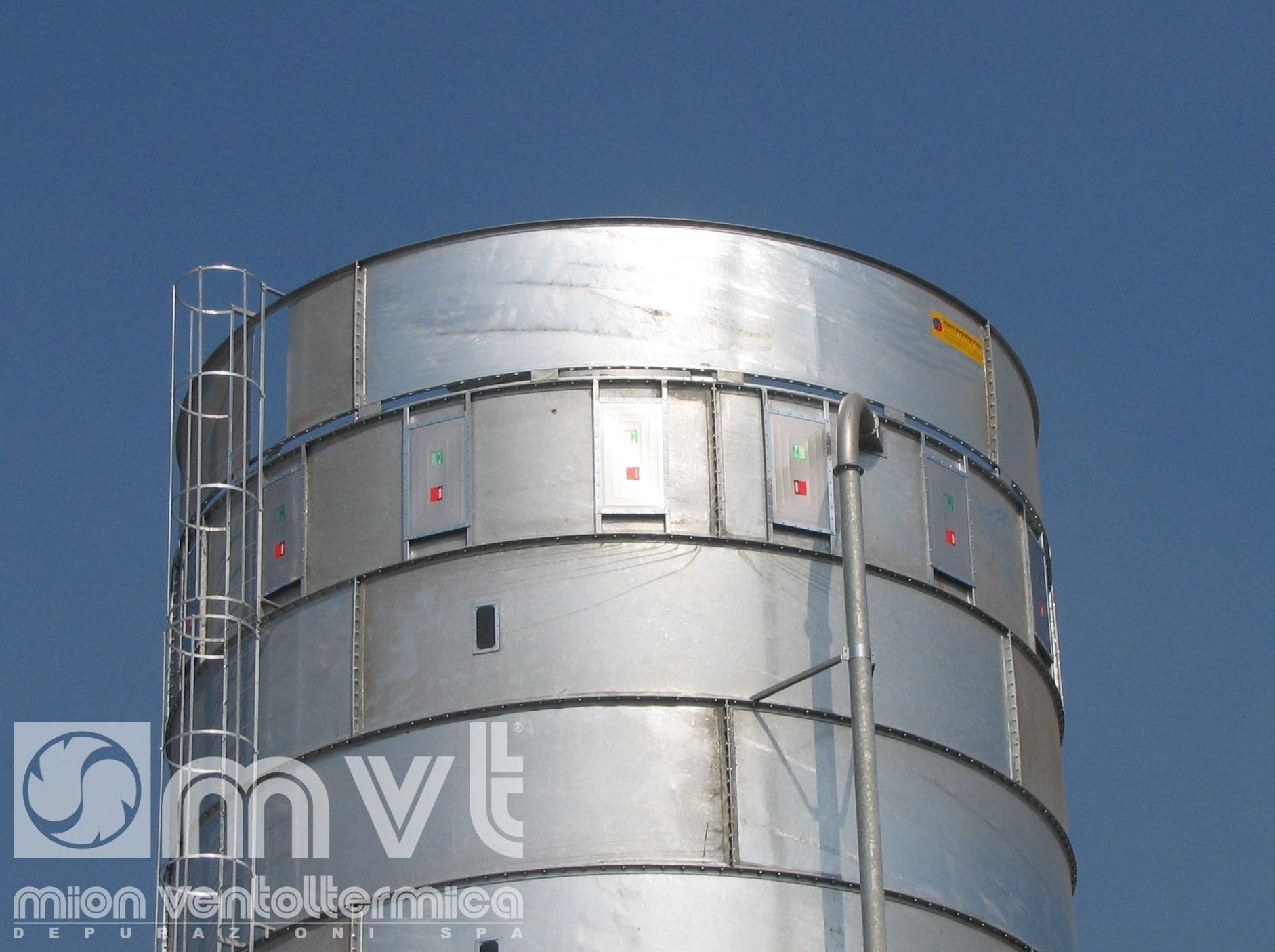 Ring Shell Silo Mion Ventoltermica