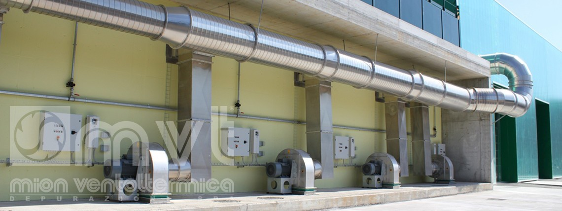 aspiratori industriali - Mion ventoltermica